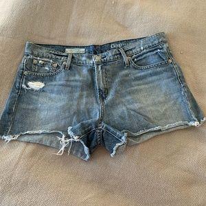 Gap girlfriend denim shorts